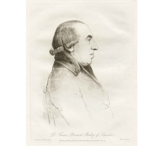 Dr Thomas Barnard portrait engraving etching Dance Daniell