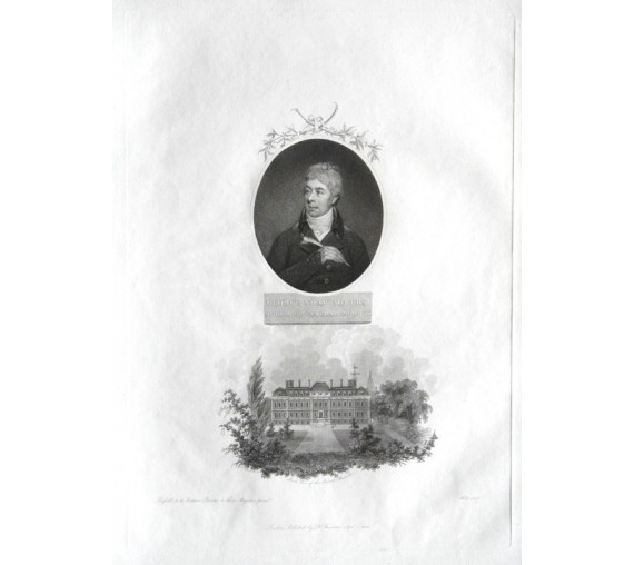 George Shaw portrait engraving John Russell