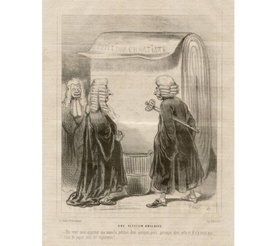 cham petition anglaise lithograph le charivari judge legal