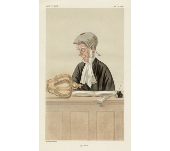 appeals mellish george vanity fair legal judge chromolthograph