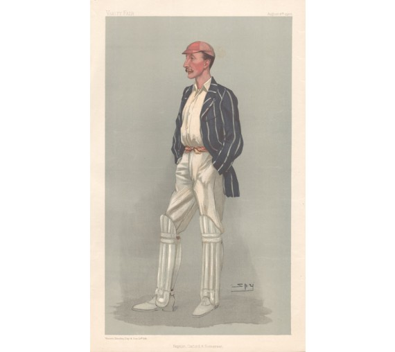 Repton Oxford Somerset Palairet Vanity Fair cricket spy