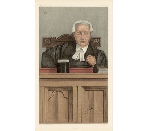 dick webster vanity fair legal spy lawyer judge chromolthograph