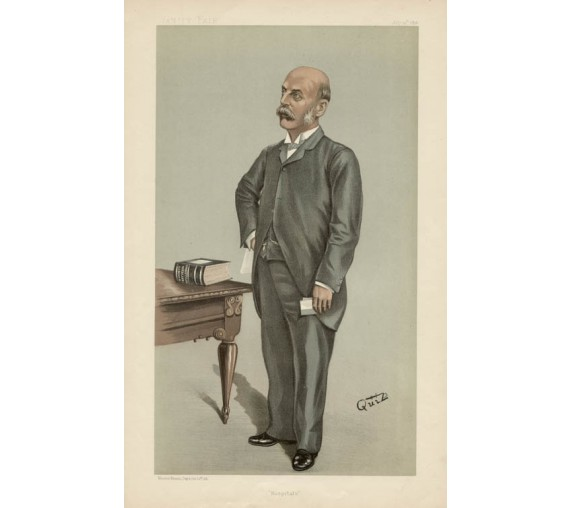 Vanity Fair Doctor Medical Quiz chromolithograph Hospitals