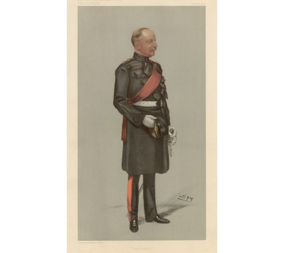 Vanity Fair Irish guards Military Vesey Dawson