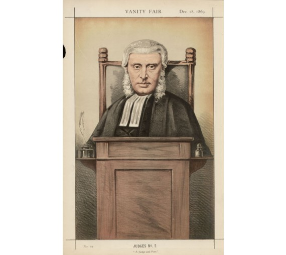 judge peer penznance vanity fair legal judge chromolthograph