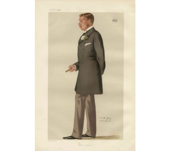 Vanity Fair Self Conquest Lowther Earl Lonsdale portrait