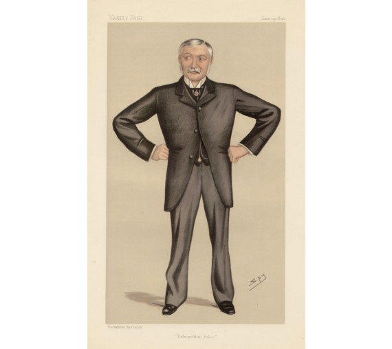 metropolitan police munro vanity fair legal spy chromolthograph