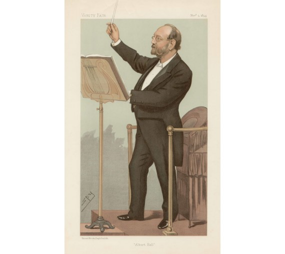 Vanity Fair Albert Hall Joseph Barnby portrait music