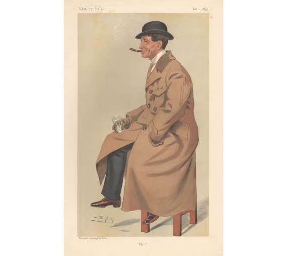 Vanity Fair Phil May Chromolithograph Spy 1895