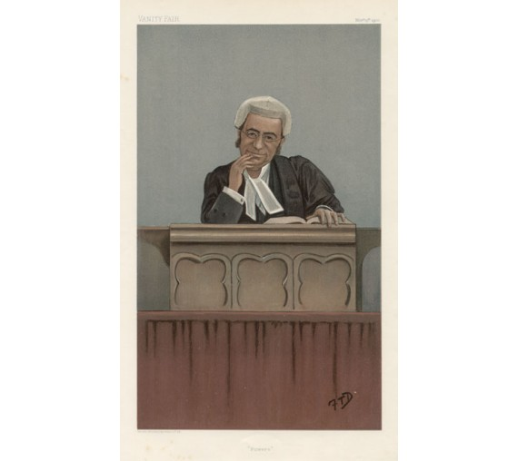 powers farwell vanity fair legal judge chromolthograph