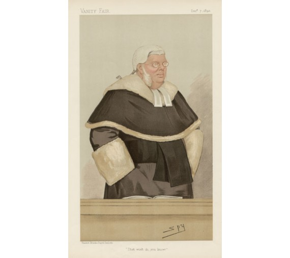 cave lewis vanity fair legal spy judge chromolthograph