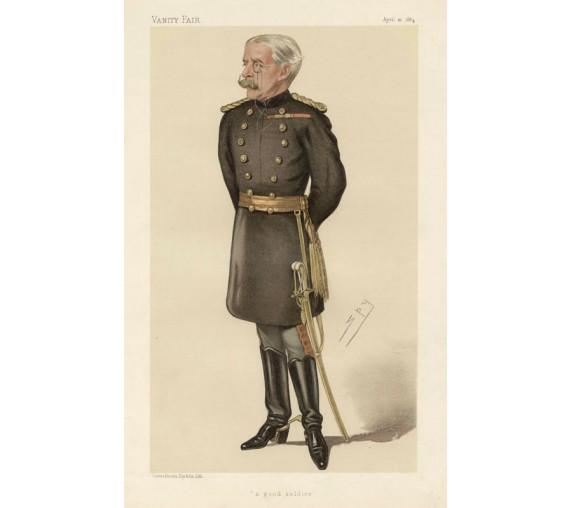 Vanity Fair Good Soldier Military Spy Higginson