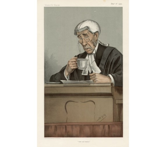 slow steady bruce vanity fair legal judge chromolthograph