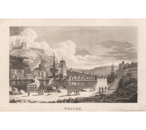 Whitby Captain Cook Aquatint