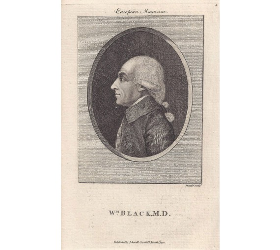 William Black portrait engraving doctor physician