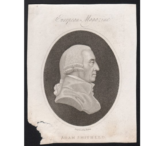 adam smith economist portrait engraving