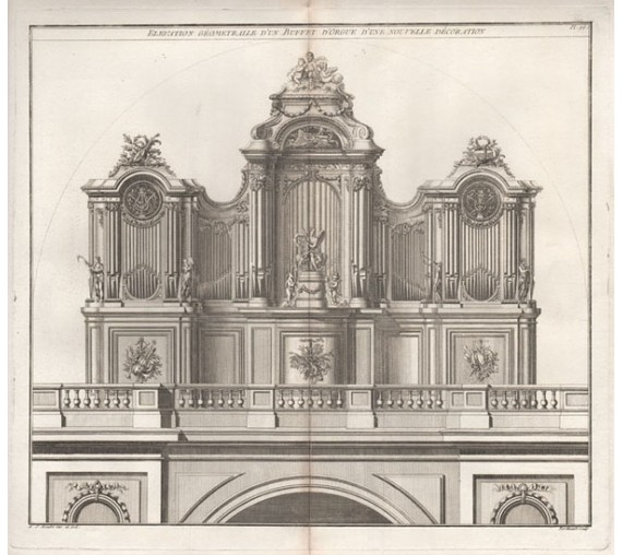 pipe organ roubo design