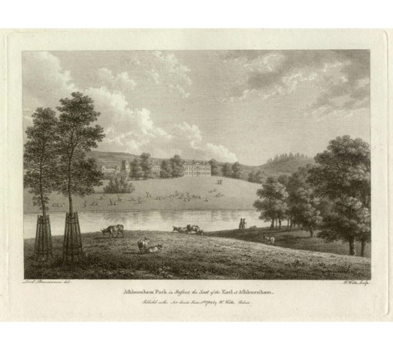ashburnham park sussex engraving