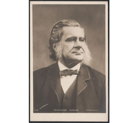 Thomas Huxley Photograph barraud postcard