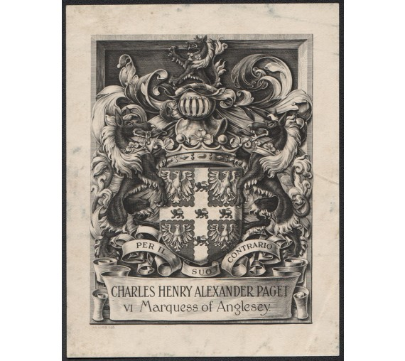 bookplate paget marquess anglesey