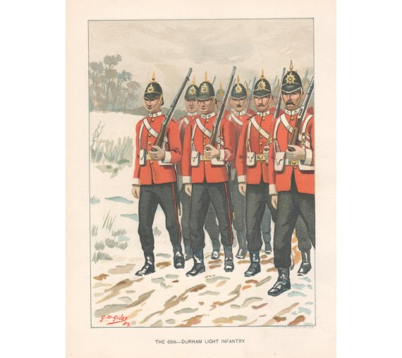 Durham Light Infantry colonial forces