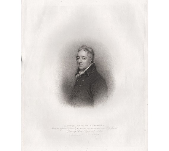 george earl egremont portrait engraving