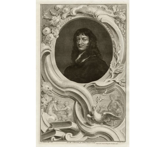 william temple portrait engraving Houbraken