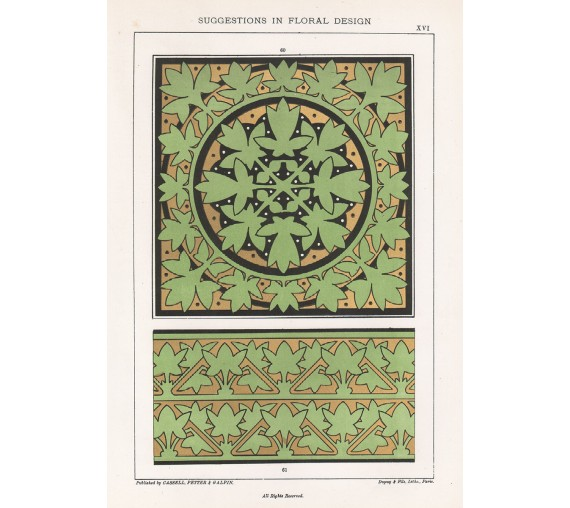 suggestions floral design hulme interior victorian chromolithograph 16