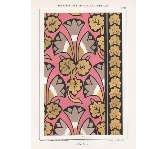 suggestions floral design hulme interior victorian chromolithograph 17