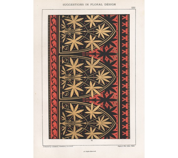 suggestions floral design hulme interior victorian chromolithograph 21