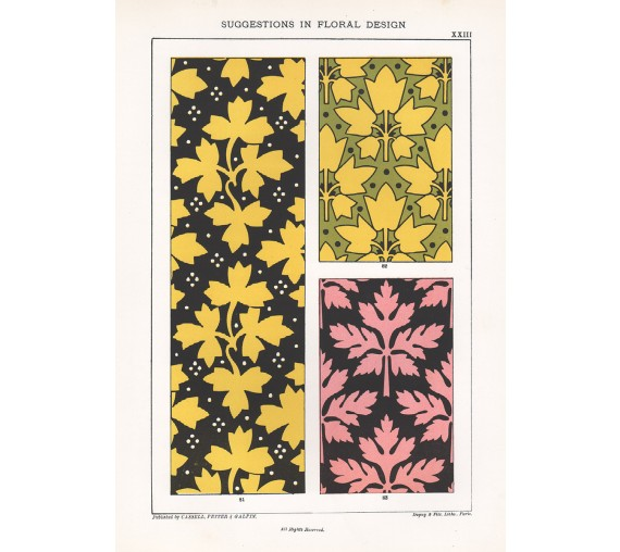 suggestions floral design hulme interior victorian chromolithograph 23