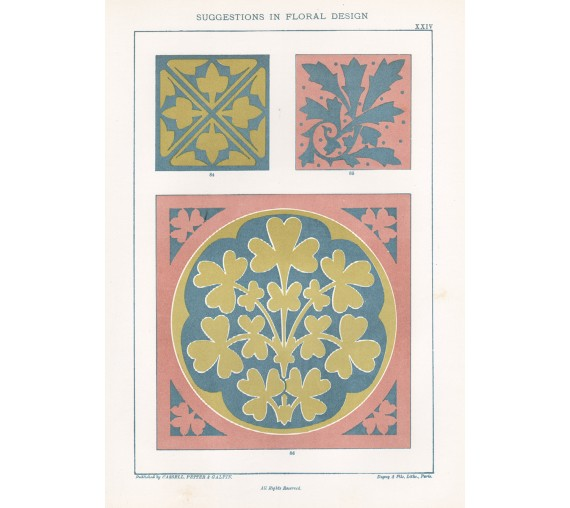 suggestions floral design hulme interior victorian chromolithograph 24