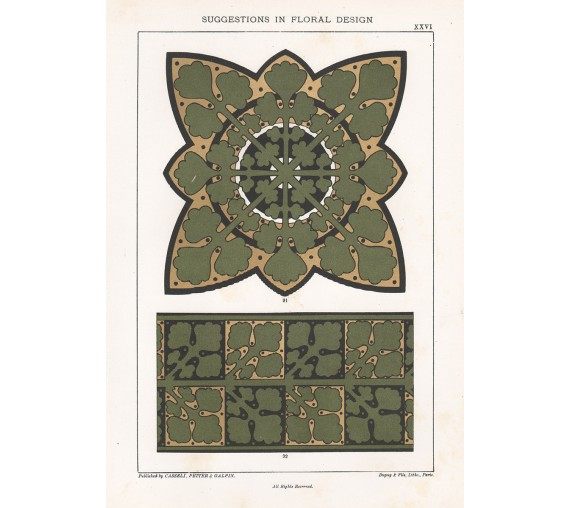suggestions floral design hulme interior victorian chromolithograph 26