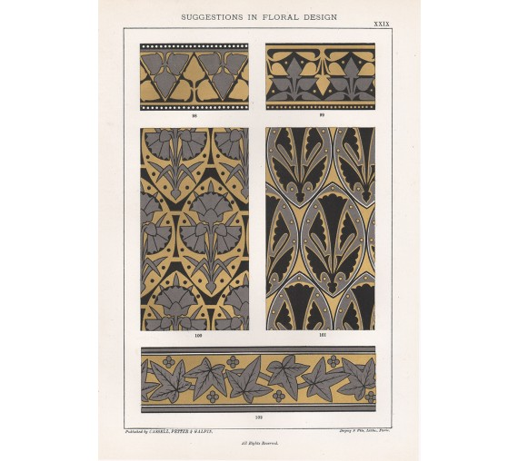 suggestions floral design hulme interior victorian chromolithograph 29
