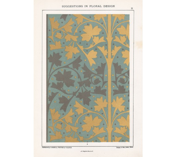 suggestions floral design hulme interior victorian chromolithograph 2