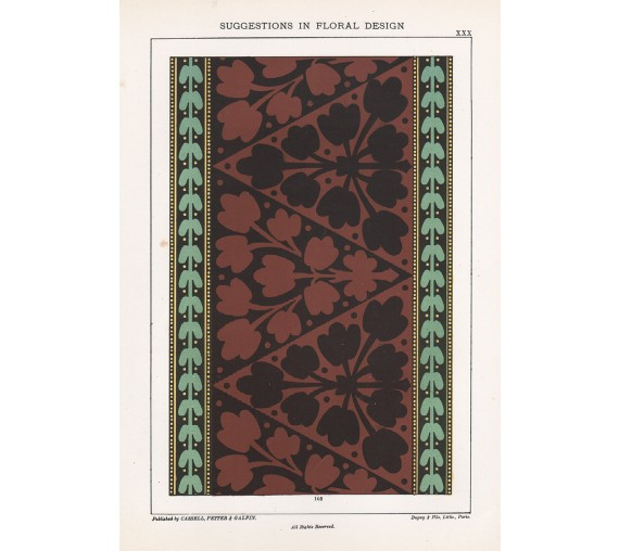 suggestions floral design hulme interior victorian chromolithograph 30