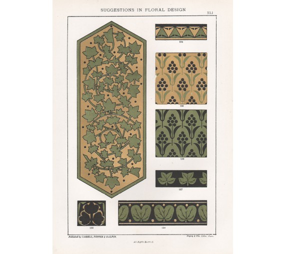 suggestions floral design hulme interior victorian chromolithograph 41