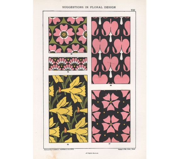 suggestions floral design hulme interior victorian chromolithograph 8