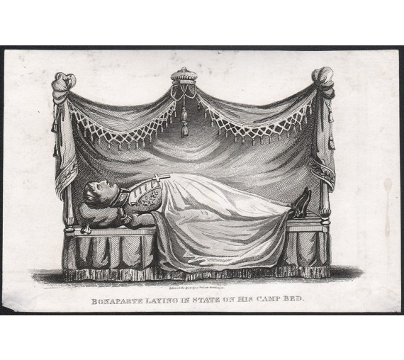 Bonaparte Napoleon death bed