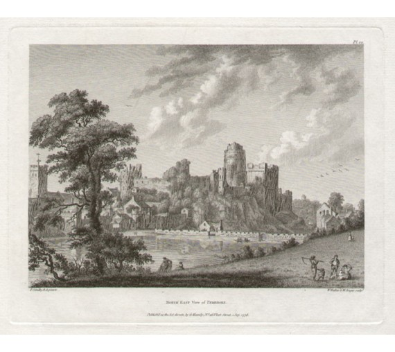pembroke castle Paul Sandby antique print engraving