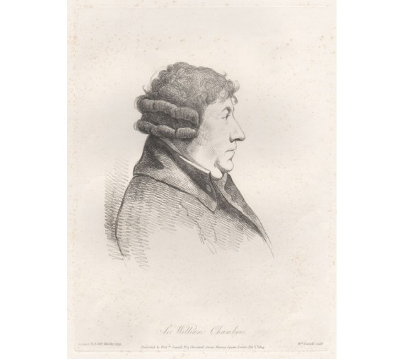 william chambers portrait engraving Dance Daniell
