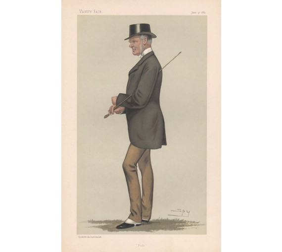 John Anstruther Thomson Vanity Fair Spy portrait