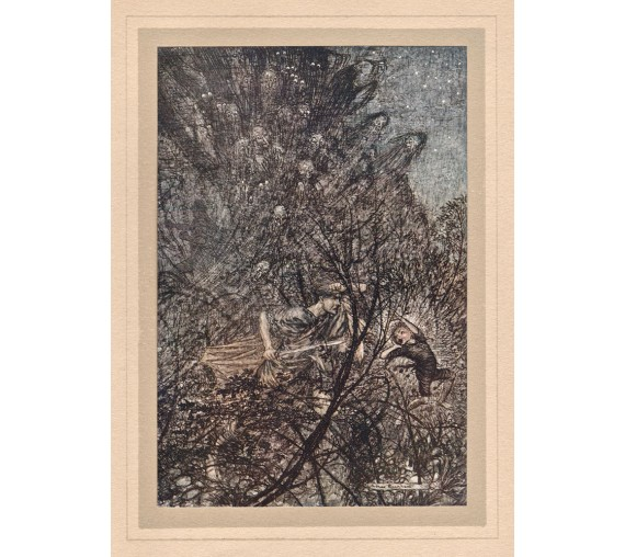 goblin Midsummer's Night Dream illustration Arthur Rackham