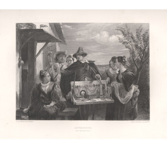 autolycus winters tale shakespeare gallery engraving