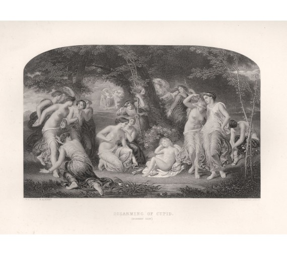 disarming cupid shakespeare gallery engraving