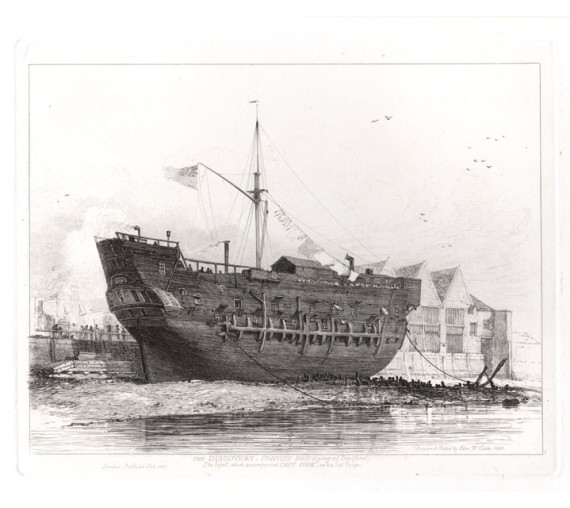 The Discovery, Convict Ship, Deptford