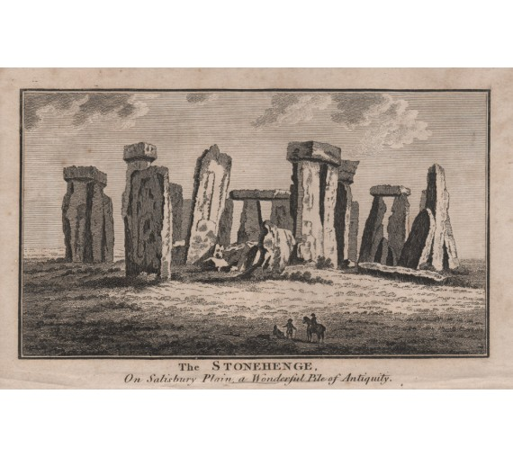 stonehenge engraving antique
