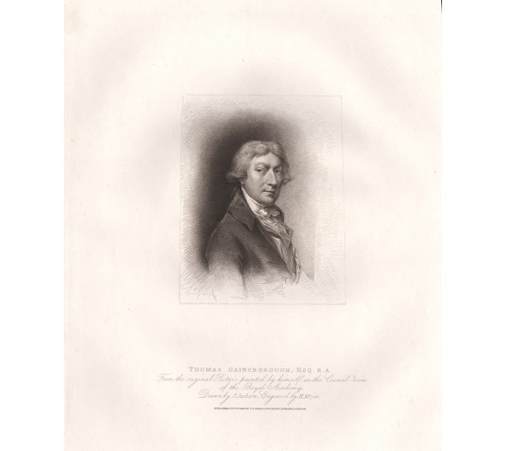 thomas gainsborough portrait engraving