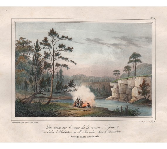 nepean river lithograph
