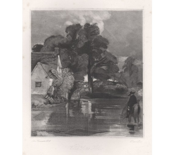 willy lotts house Suffolk mezzotint Lucas Constable